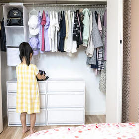 【札幌 新築】子ども部屋の収納