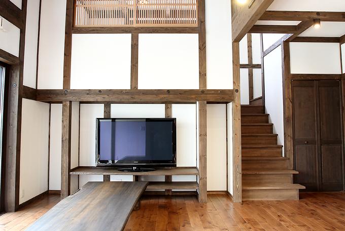 6つの階層を持つ家