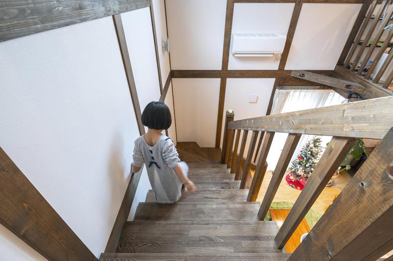 夫婦2人とも古民家風、木の家が好き。子供も気に入ったサイエンスホームの住まい