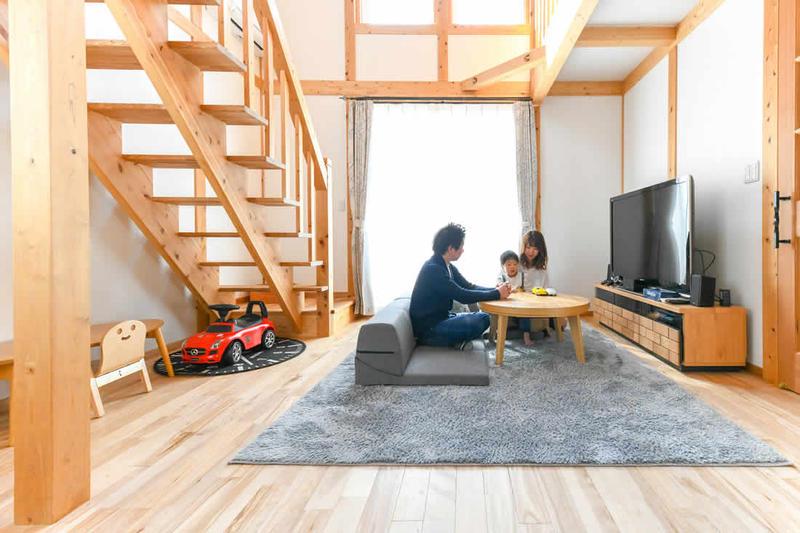 スタイルのある暮らしを楽しみ、家族の団らんを育む家