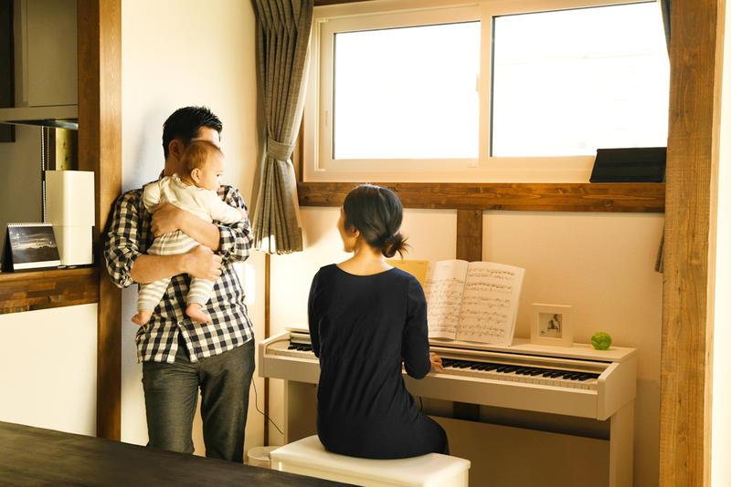 家族の時間を豊かに彩る、温もりに満ちた家